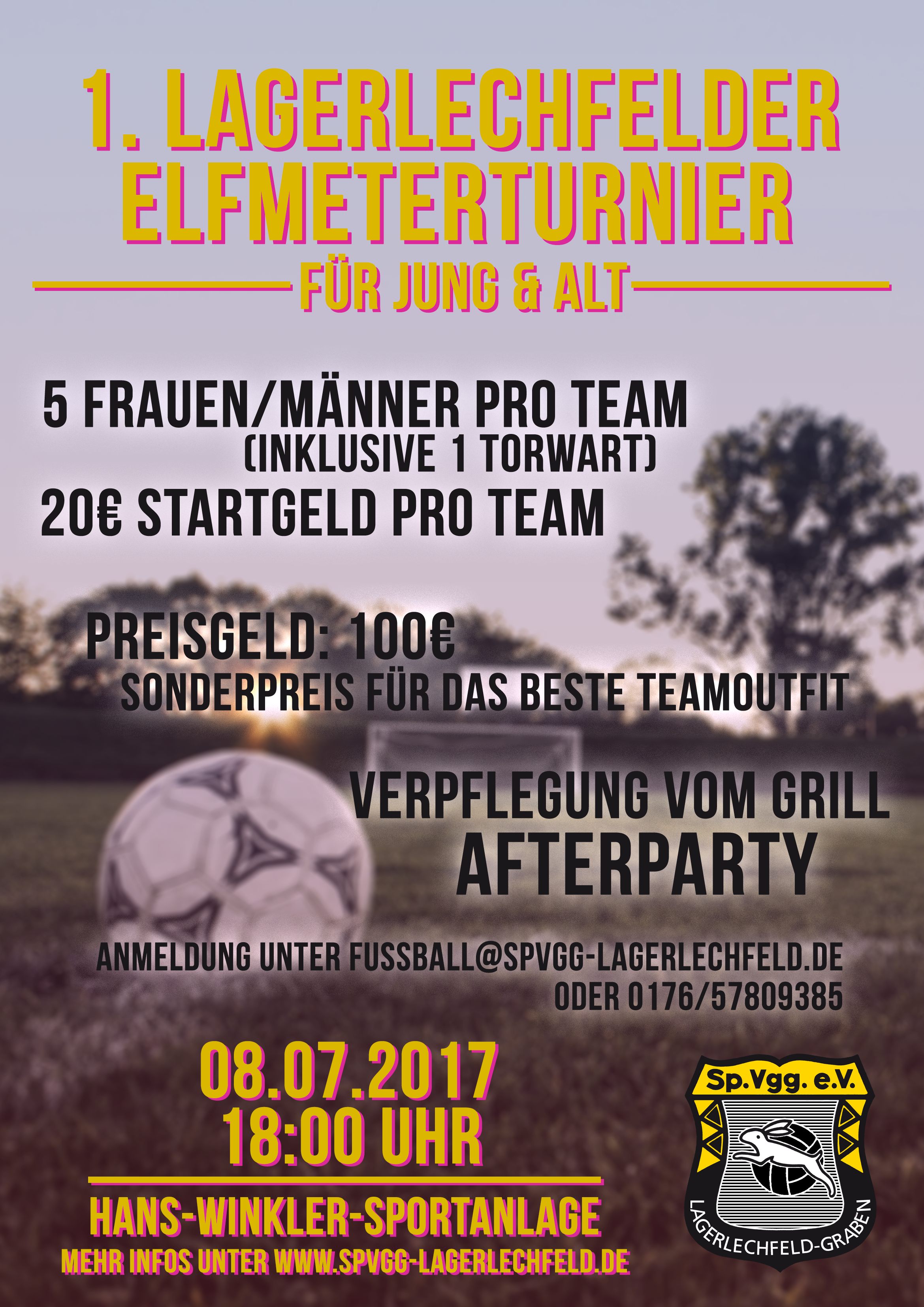 FLYER-Elfmeterturnier